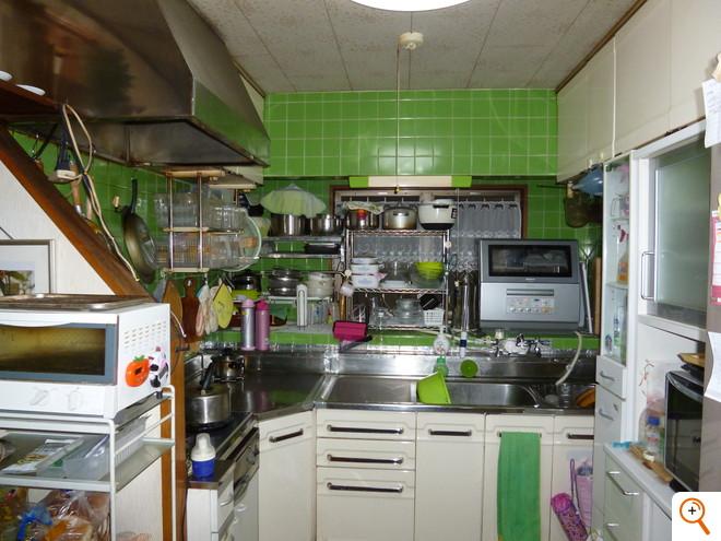 キッチン工事Before