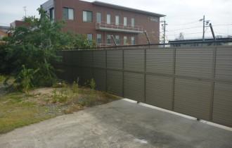 フェンス設置工事After