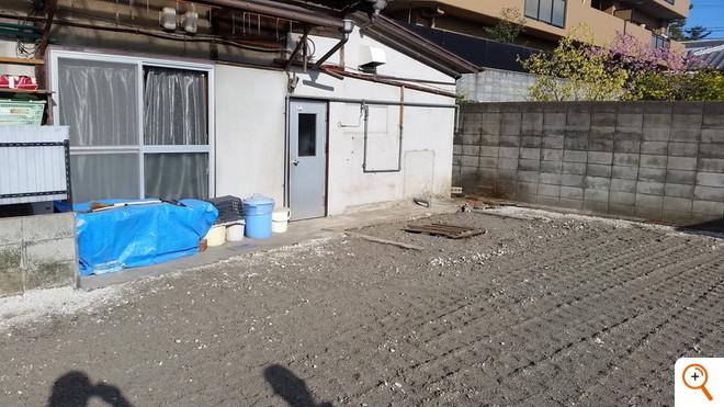 ブロック新設工事施工前