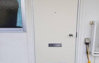 玄関扉取替工事