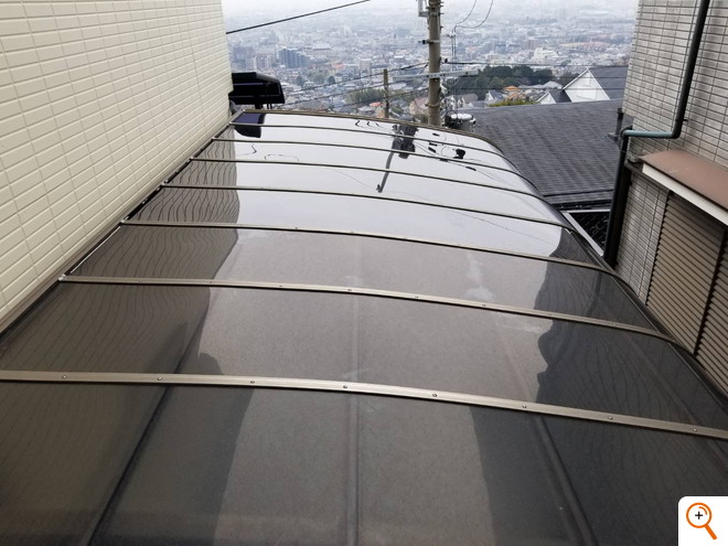 カーポート屋根材交換