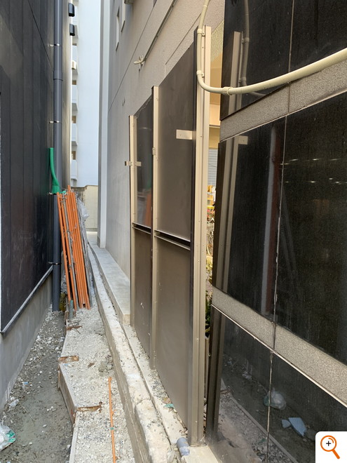 間仕切り修復工事
